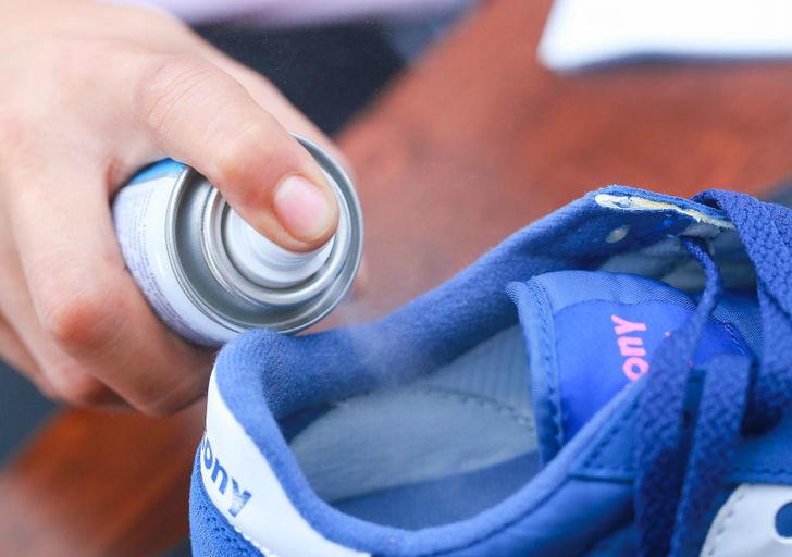 Антибактериальный спрей против запаха и бактерий в обуви