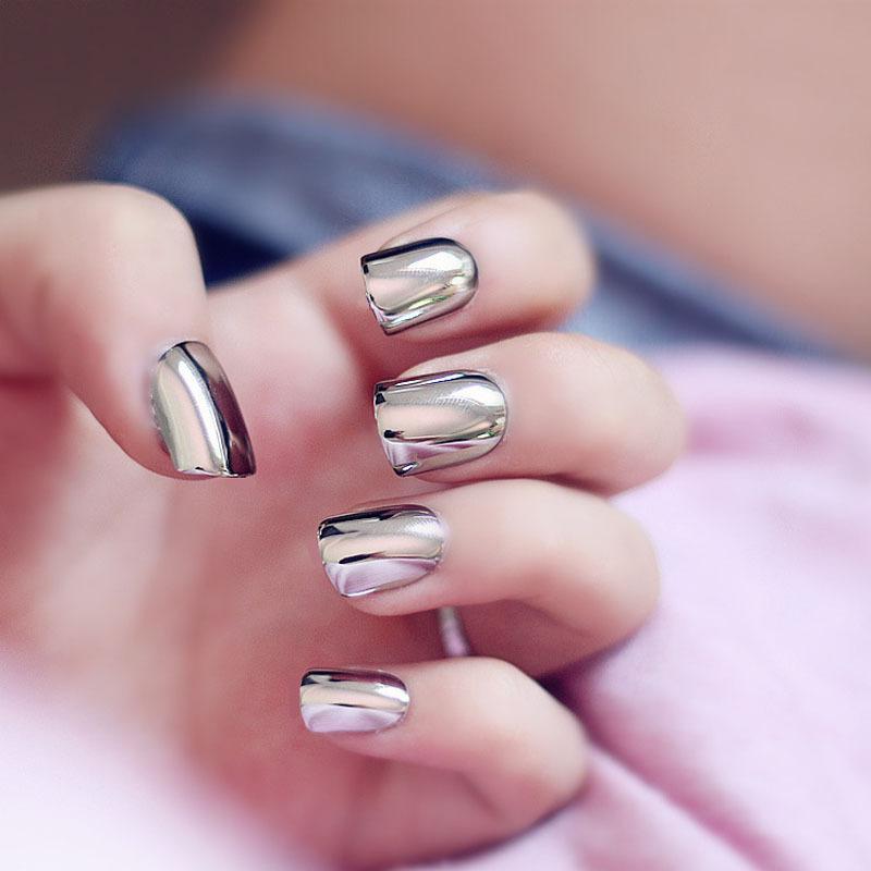 Фото квадратно овальных ногтей с гель-лаком