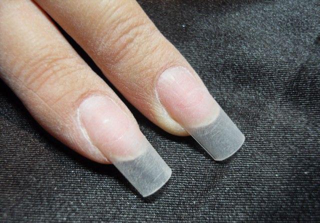 Как убрать гель-лак с нарощеных ногтей дома