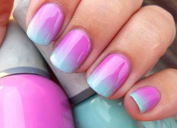 Фото формы ногтей мягкий квадрат с гель-лаком