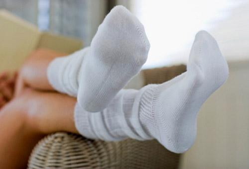 Педикюр с носочками домашний уход