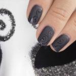 Картинки матового гель лака черного цвета