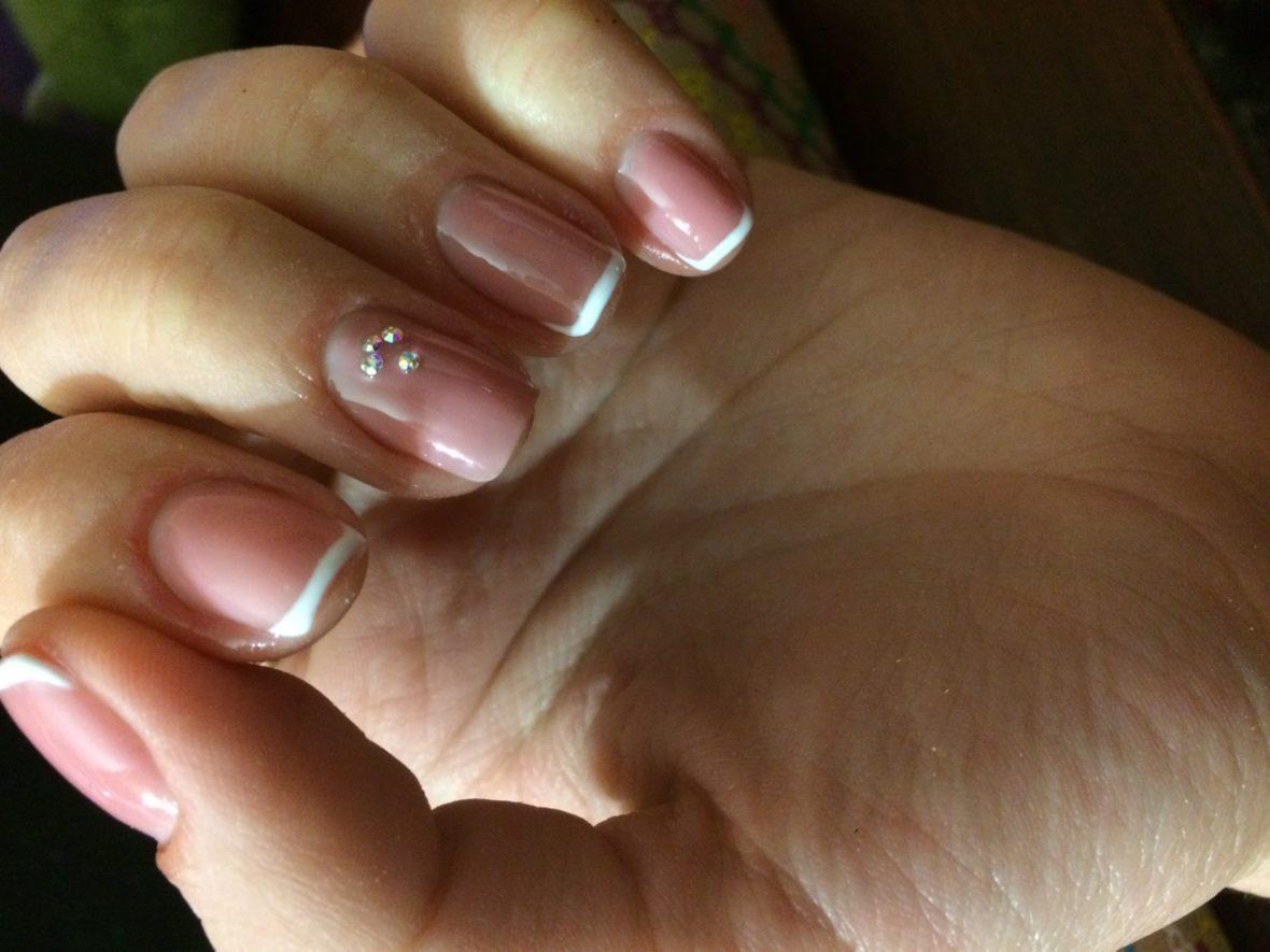 Коррекция на ногти фото