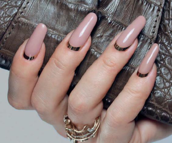 Длинные нарощенные ногти фото